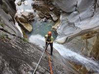 Canyon de Lodrino - chute de 45 m